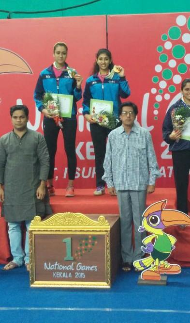 Medal winner from Stag TTA at the National Games 2015