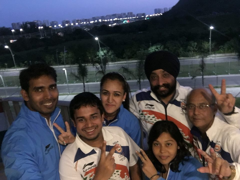 olympic journey sandeep and manika batra