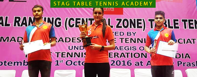 Manika Shines Gold, Utkarsh & Path Win Bronze at National Rankings 2016, Indore (Central Zone)
