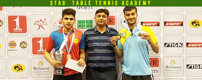 Parth Virmani of Stag Table Tennis Academy won Silver medal in Junior Boys singles in 78th Youth & Junior National & Inter State Table Tennis Championship 2017.